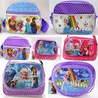 Free shipping 2014 popular Frozen children backpacks girls school bags hot fashion kids boys bag single-shoulder bag Wholesale