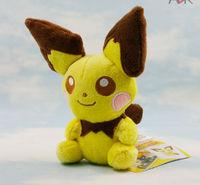"Free Shipping 1pc Pokemon Pikachu Plush Soft Doll Toys PICHU 5"" Wholesale"