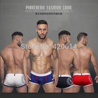 2014 new style, Brand Sexy Underwear Men Knickers,Shorts,Breeches,Panties Men's Boxer, 12pcs/lot Cotton men's Underwear
