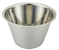 stailess steel Snack cup Salad pudding jelly ice cream cup Bake cake mould 4 sizes XL size 9.5*10.5*6.5cm
