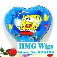 "Balloon Birthday Party Decoration Sponge Bob balloon Kids Cartoon Balloons Gift  10pcs/lot  18"""