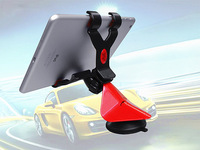Rotatable 3.2-8 inch suction universal mobile phone/tablet car mount holder