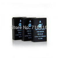 3 PCS DSTE 7.4V 1400mAh EN-EL20 ENEL20 Li-Ion Battery for NIKON 1J1 1V3