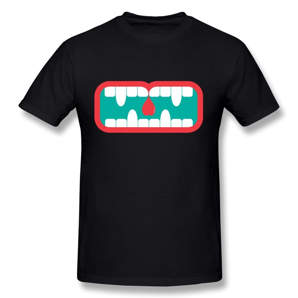 2014 Brand Round Neck Mans T Shirt Love bite Customize Tee Shirts Man(China (Mainland))