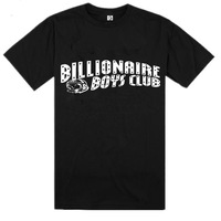 "Hot Sale Fashion New 100% Cotton White Letters ""Billionaire Boys Club"" Men's Casual Hip-hop O-Neck Shorts Sleeves T-shirt S-3XL"