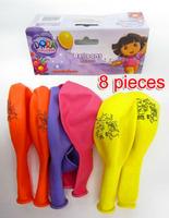 Wholesale party balloon decoration birthday party supplies dora explorer environmental 12 inch thickening