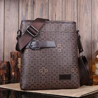 2014 NEW men's fashion crossbody bag leather messenger bag shoulder bag for man Free Shipping