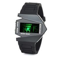 Fashion Plane Style Water Resist LED Digital Wrist Watch
