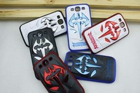 Free Shipping Luxury Plastic Cover 3D Batman Case for Samsung Galaxy S3 i9300