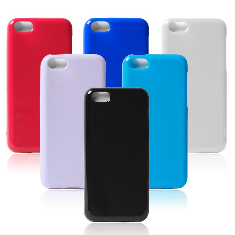 30PCS/ Lot Soft TPU back cases for Iphone5C Candy color solid protective cover skin housing for Iphone5C Free Shipping(China (Mainland))