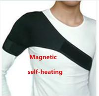 Tourmaline nano-magnetic shoulder pad,self-heating Shoulder Support