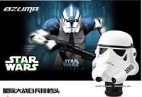 2014 Fashion Star Wars White Pawns Gear Shift Knob Manual Transmission Magnesia Strengthen Porcelain Car Modification Hand ball