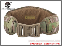 2014 New Emerson gear MOLLE Padded Molle Waist Belt Men Airsoft Combat Army belt AT/FG EM9086A