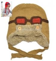 Bomber Hats Winter baby earflap,Pilot cap, children hats boys, flight caps, Toddlers Warm Cap Beanie Cool Infant  Aviator Cap