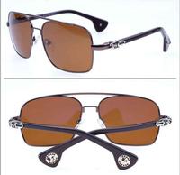 New fashion band driver lens polarized uv protection glasses lens skull sunglasses  wholesale
