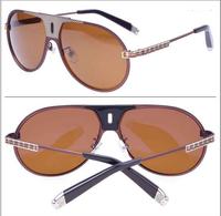 New driver wholesale fashion polarized uv  lens  skulls sunglass