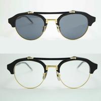 Thom Browne brownie TB - 700 round box plate with slim light flat myopia sunglasses