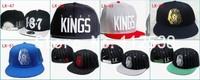 last kings cap blue last kings leather hat last kings snapback leopard red white black strapback leather one cap free shipping