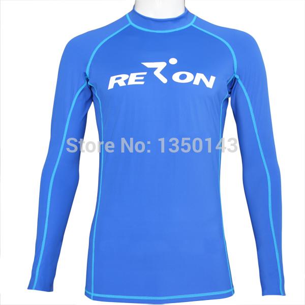 uv protection long sleeve nylon compression rashguards rash shirt(China (Mainland))