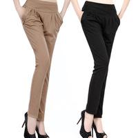 S - XXXL  casual OL harem pants  New 2014 spring summer women's long trousers plus size pants women slim formal trousers ol