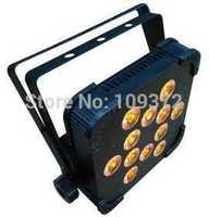 Hot 12*15W Quad Led Par Light RGBWA 5-In-1 High Power Led Flat Par Can Slim Par Led Light