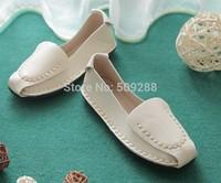 Roma retro line flat shoes new comfortable doug shoes Super soft bottom Women shoes