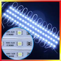 20PCS/LOT 5050 SMD 3LED Module DC 12V White/Warm White/Red/Green/Blue Waterproof
