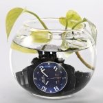 Men's Analog-Digital Multi-Functional Dial Steel Band Wrist Watch (Assorted Colors)