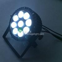 free shipping 14pcs/lot 9*18w RGBWYP 6in1 IP65 waterproof slim par can lighting
