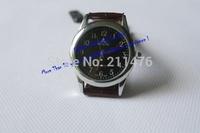 Min.order $10 waterproof Korea luxury  round elegant wristwatch top brand genuine leather quartz watch for wome/men CDWT001008