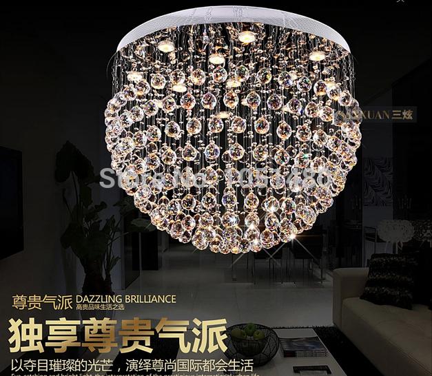 Online kopen wholesale kristal rond kroonluchter uit china kristal rond kroonluchter groothandel - Eigentijdse kroonluchter ...