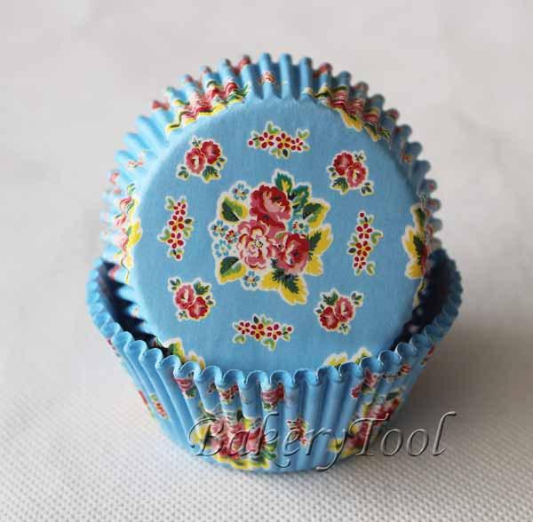 400 pçs/lote forros do queque cozimento bandeja ferramentas para bolos de silicone molde rendas cortadores de biscoito com flor clássica(China (Mainland))