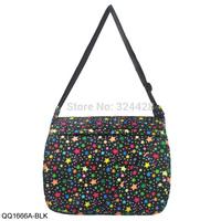 Free Shippping 2014  New Arrival Shinning Star Pattern Canvas Bag Fashion Casual Handbag  QQ1666A