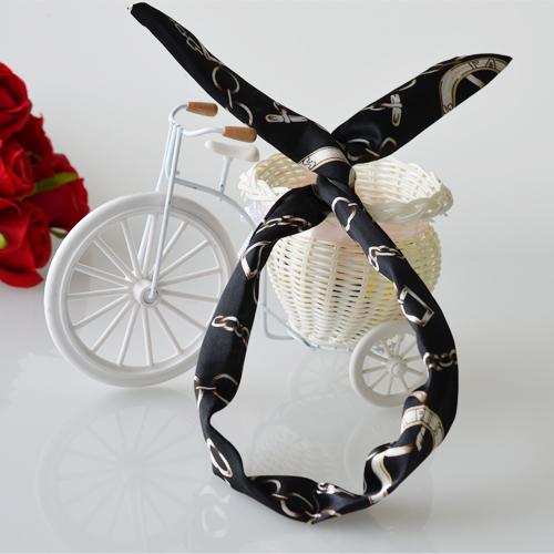 Rabbit ears hair band head scarf head band headband Black 110078V Deliver from Germany(China (Mainland))