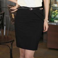 OVO! 2014 OL style big yards slim pencil skirts high waist knee length polyester cotton GATHERING four color size S-XXXL skirt