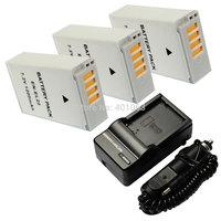 Micro single camera Li-ion 3x Battery + Charger for NOKIN 1 S2 J4 EN-EL22 ENEL22