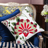 Free shipping! Four Seasons General embroidered pillow cushion sofa cushion pillow case pillow decoration / W632