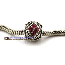chunky beads 925 silver tibetan silver Murano Glass Beads Europe Fits pandora Bracelets Charm necklaces pendants