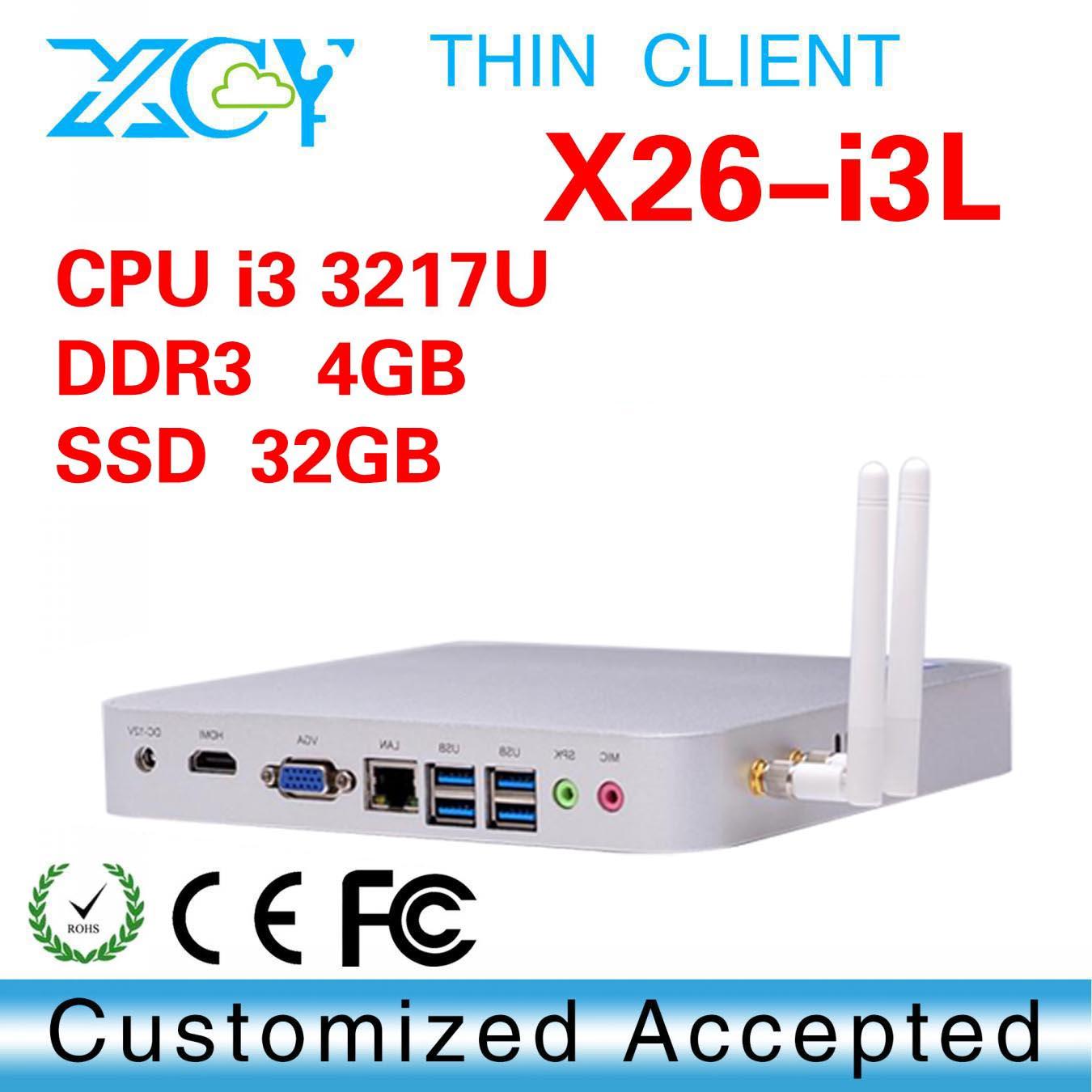 Home Theater PCs, Intel dual core 3217U 1.8GHz Custom PCs, network thin client(China (Mainland))