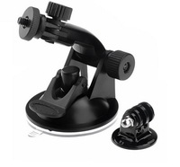 Gopro Suction Cup Mount  Holder For GoPro HD HERO 2/ 3 Camera+Tripod Adapter+Screw + Nut New for Gopro accessories