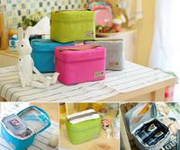 new  frozen lunch bag fashion women handbag nylon thermal bags kids lunch box bolsa termica weekend picnic bag insulation bag