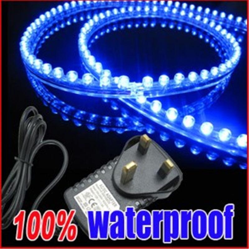 5Colors 120 LED 120CM Strip Aquarium Fish Tank Car Light Lamp Subme
