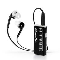 New Bluedio I5 lavalier wireless earphone Bluetooth SD Card FM stereo music headset binaural genuine