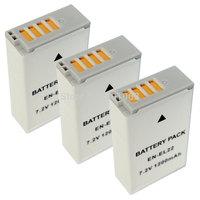 Micro single camera Li-ion 3x Battery for NOKIN 1 S2 J4 EN-EL22 ENEL22