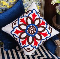 Cotton Linen Blend  pillow cushions   creative office sofa cushion quilt dual pillow cushions /wdx635