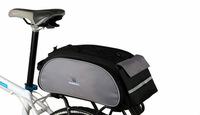 2014 New Fashion Roswheel 14541 13L Cycling Bicycle Pannier Bag Black Color
