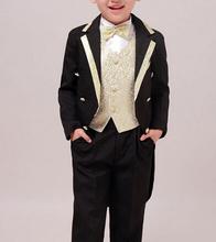 5 pezzi bambini smoking boy abbigliamento set 202 smoking e abiti per il partito boys 'abbigliamento per abito da sposa 100 cm-170 cm  (China (Mainland))