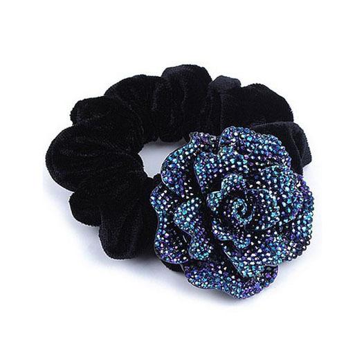 Fashion DIY hair accessories Big Rose Flower Cloth Diy headband for women SF432(China (Mainland))