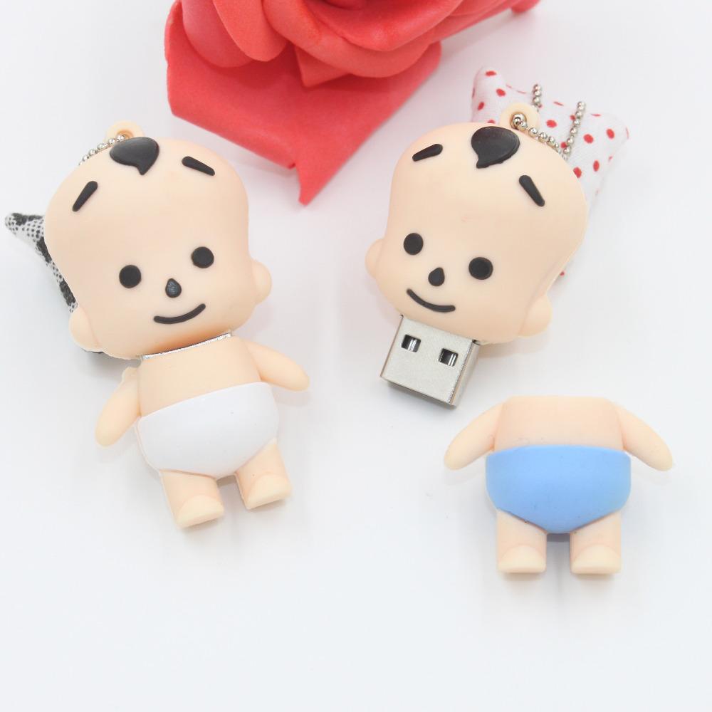 Hot sale Genuine usb 2.0 USB Flash Drive 4gb-32gb New Cartoon kids model memory flash stick pen drive --Free shipping(China (Mainland))