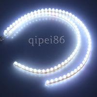 "2 x 20"" Daytime Running Light White 48 LED Strip Driving DRL Car Fog Parking Signal Light Lamp Styling"